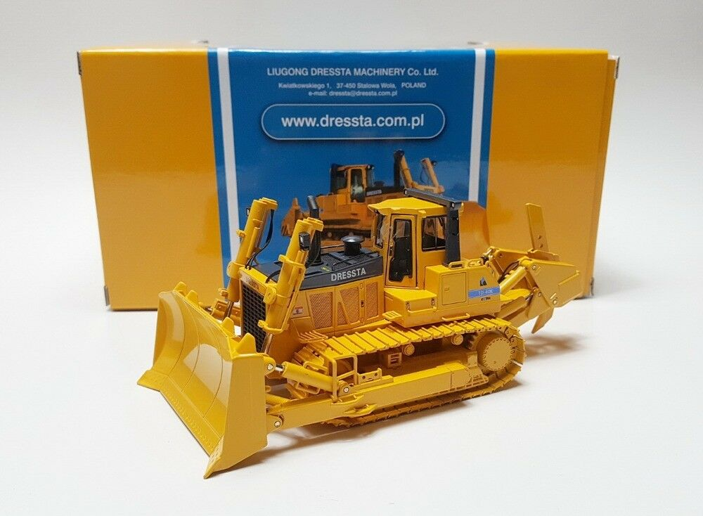 Diecast Toy Model 1 50 Liugong Dressta TD-40E Bulldozer Construction Vehicles