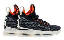 Nike Lebron 15 Graffiti Basketball Black Sail Bright Crimson Aq6176 002 Sz 7y