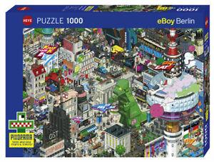 Heye Puzzle - 1000 Teile Puzzle Berlin Quest ( Eboy ) HY29915