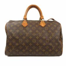 Louis Vuitton Speedy 35 Monogram Handbag - Brown