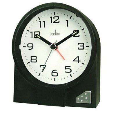 Acctim 13353 Mini Flip LCD Alarme Horloge de bureau noir