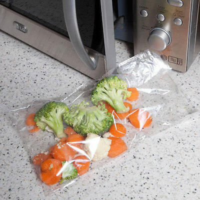 40 Quickasteam MICROWAVE COOKING BAGS Ideal for Microwave Steam Cooking 2831-1