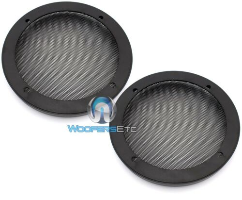 """2 UNIVERSAL 6.5/"""" SPEAKER COAXIAL COMPONENT PROTECTIVE GRILLS COVERS NEW PAIR"""