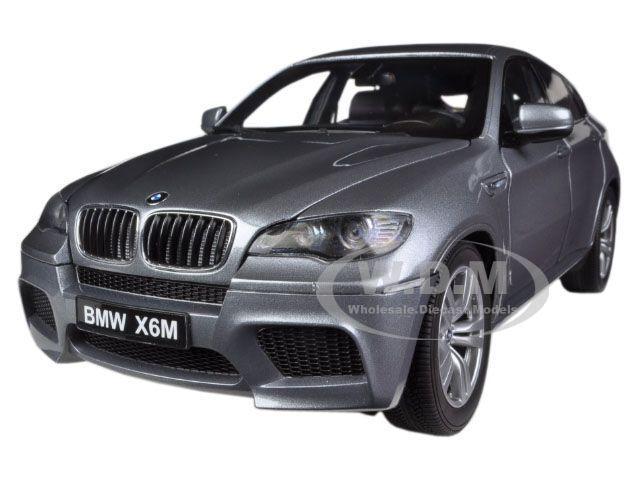 Bmw x6 m platz grau 1   18 ein diecast modell - auto von kyosho 08762