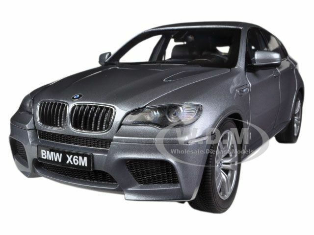 Bmw X6 M Space Grey 1 18 Diecast Model Car By Kyosho 08762 Ebay