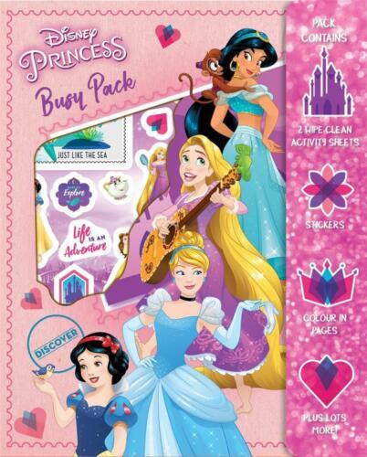 Paquete De Disney Princesa ocupado Fiesta Rellenos Pack de más de 25 pegatinas para niños
