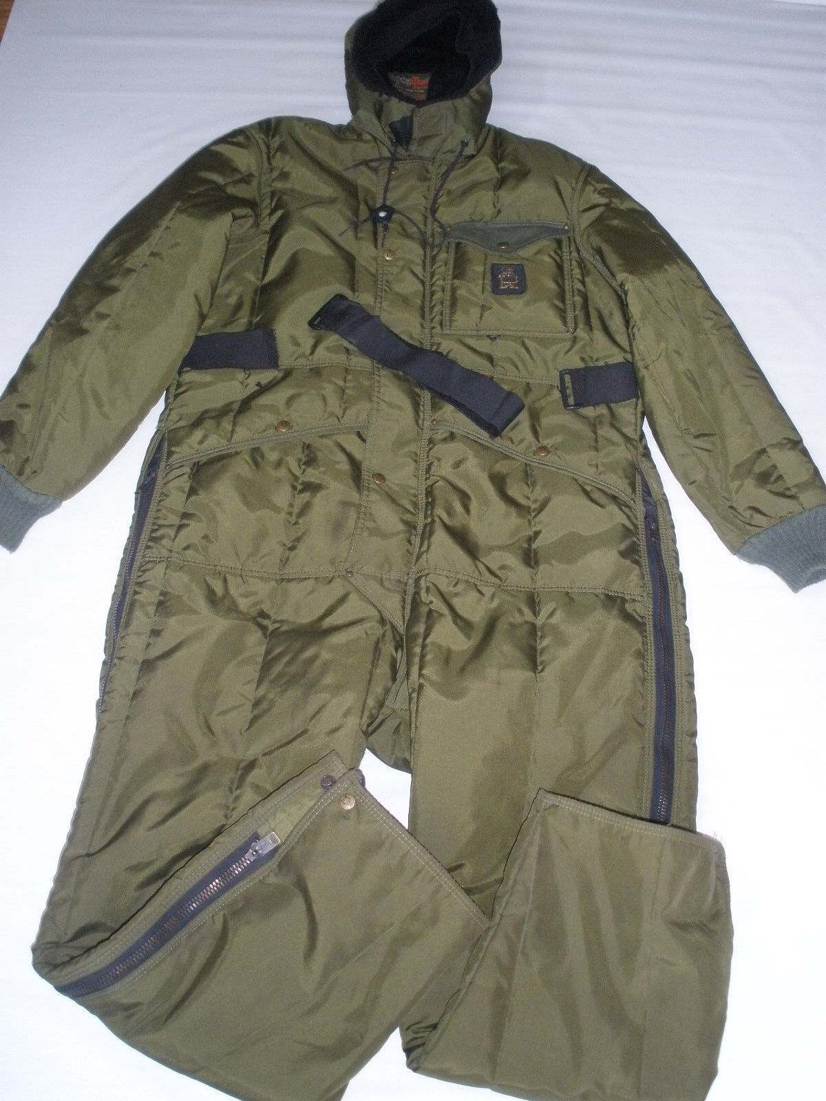 REFRIGIWEAR WINTER SNOW SKI WORK HUNTING SUIT size M  RARE NICE MADE IN USA WOW