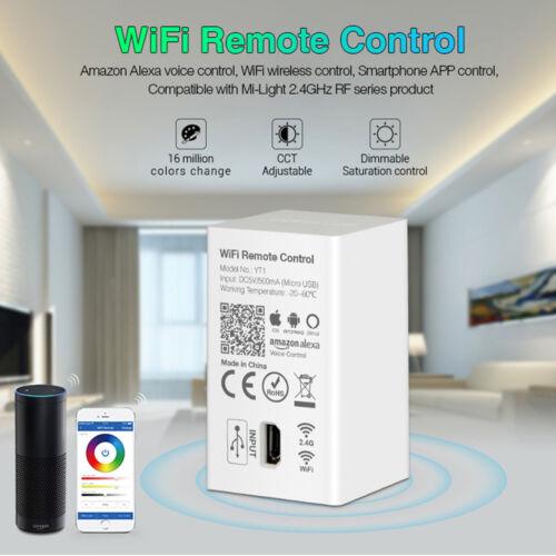 Mi-Light Wifi Fernbedienung YT1 4G Amazon Alexa Kompatibel Elegant Fernbedienung