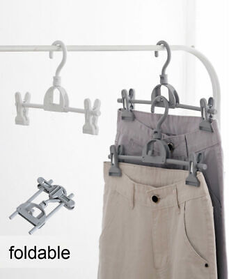 Foldable Clothes Hangers Plastic Windproof Portable Clothes Drying Rack Shan