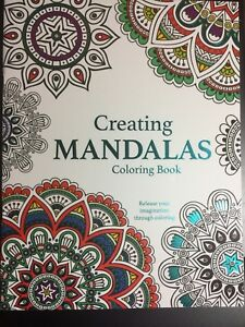 Details about CREATING MANDALAS COLORING BOOK BRAND NEW ADULT DREAMS ART  PEACEFUL CREATIVE