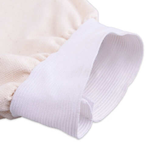 """1Pair 15/"""" Cotton Fabric Welding Protection Sleeves Arm Protector Flame Resistant"""