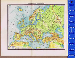 Details about European Physical Geography Vintage Swedish Map Insert on massif central map, eastern european map, modern european map, european history map, european religious map, the european map, european geography map, european language map, iberian peninsula map, world map, european climate map, european cultural map, european countries, pyrenees map, european cities map, european weather map, european geopolitical map, ural mountains location on map, europe map, european satellite map,