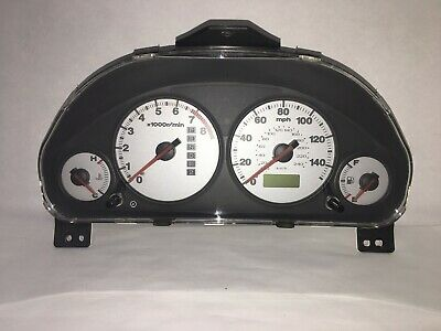 2001 2002 Honda Civic EX Coupe AT w//o Side SRS w// ABS Speedometer Gauge Cluster