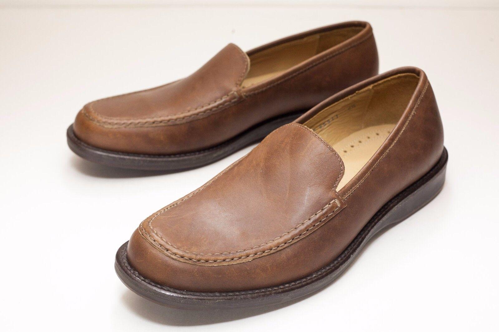 J.Crew 8.5 Brown Loafers Men's shoes - Italian