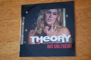 Theory-Of-A-Deadman-Bad-Girlfriend-promo-CD-single-Rare-NEW-2009-rock