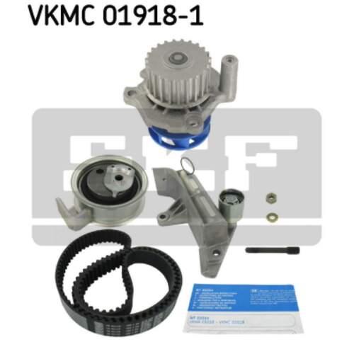 Courroie de distribution phrase Pompe à eau SKF VKMC 01918-1