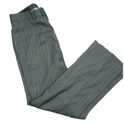 """WWK Mens Elasticated waist smart casual formal Rugby trousers L29/"""" zip fly NEW"""