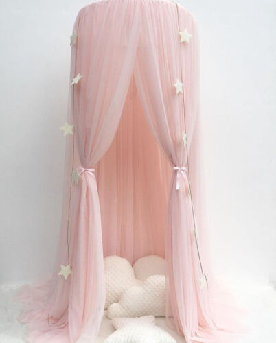 Baby Bed Crib Canopy Netting Bedcover Mosquito Net Curtain Bed Dome Tent GIFT