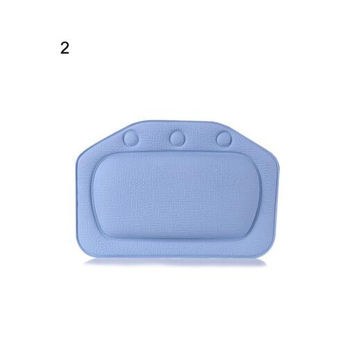 Back Neck Support Headrest Bath Cushion Bathtub Pillow Home Spa Product