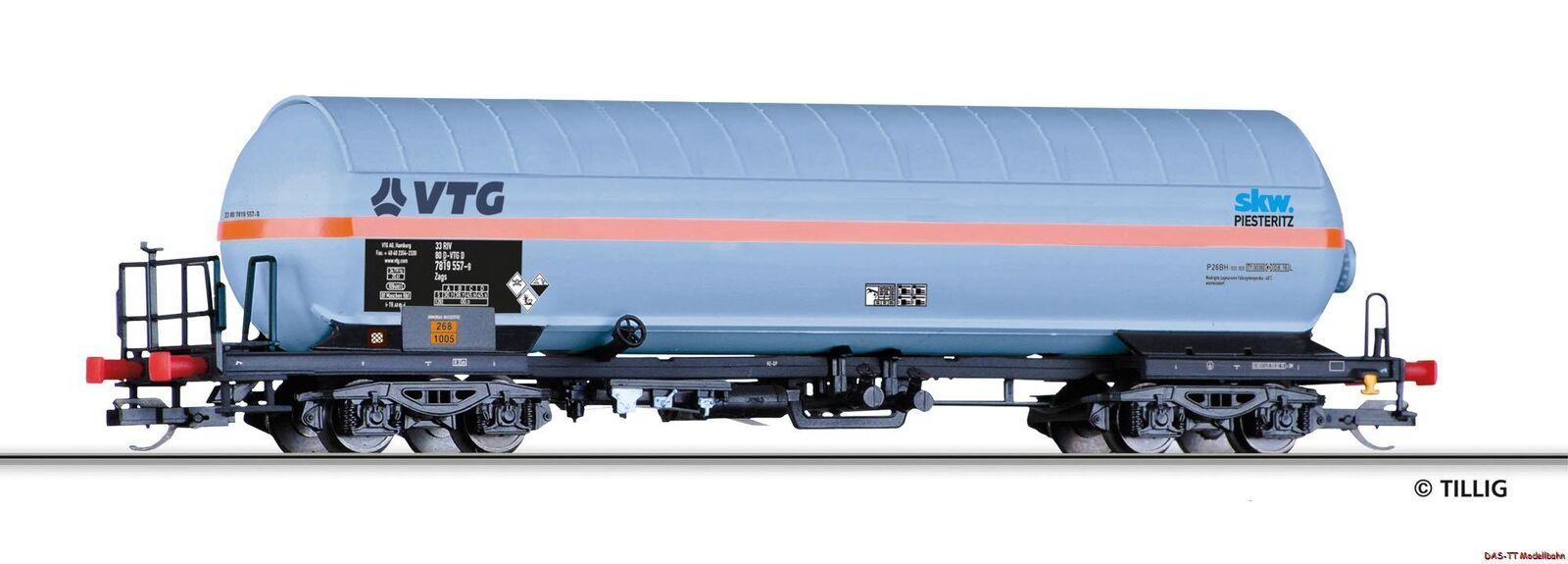 TT gaskessel carrello VTG/SKW Pisteritz CON PARASOLE TETTO EP. vi Tillig 15035