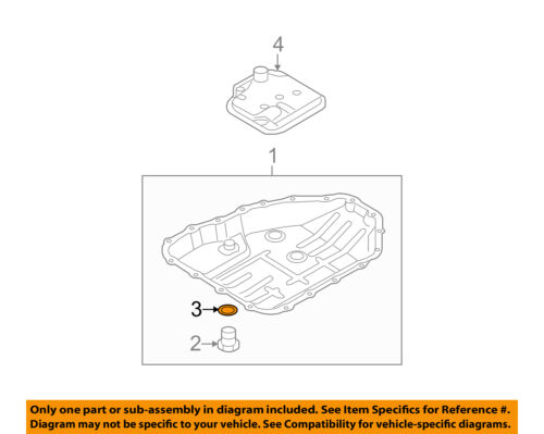 KIA OEM 07-09 Spectra Transaxle Parts-Drain Plug Washer 2151311000