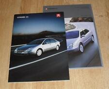 Citroen C5 Brochure 2003 - LX VTR Exclusive - 1.8 2.0 3.0 V6 24v 2.0 HDI 2.2 HDI