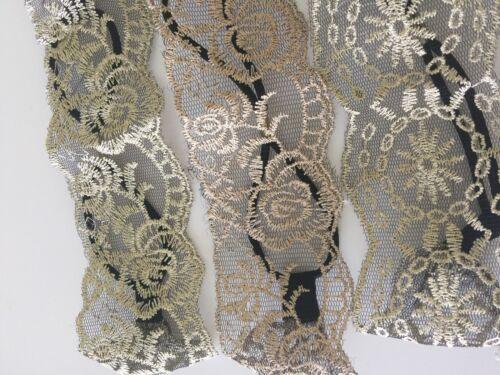 1P Women Embroidery lace bohemian Retro beach hair wrap headband Elastic bands