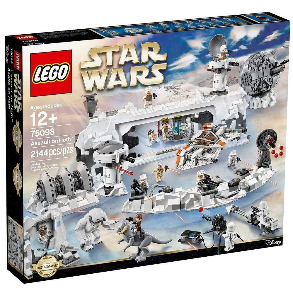 BRAND NEW RETIROT Star Wars Lego 75098 Assault on Hoth