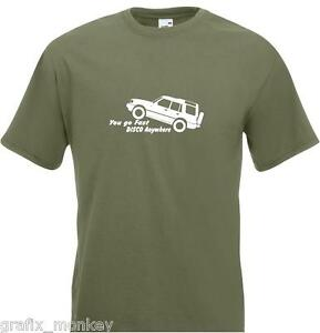 Land-Rover-Discovery-039-You-Can-Go-Fast-039-Adult-T-Shirt