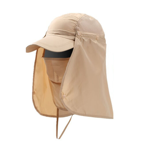 Outdoor 360° Fishing Cap Hiking Hat Neck Cover Ear Flap UV Sun Protection Summer