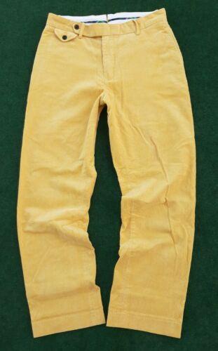 Ralph Lauren Polo Mustard Yellow Corduroy Buckleba