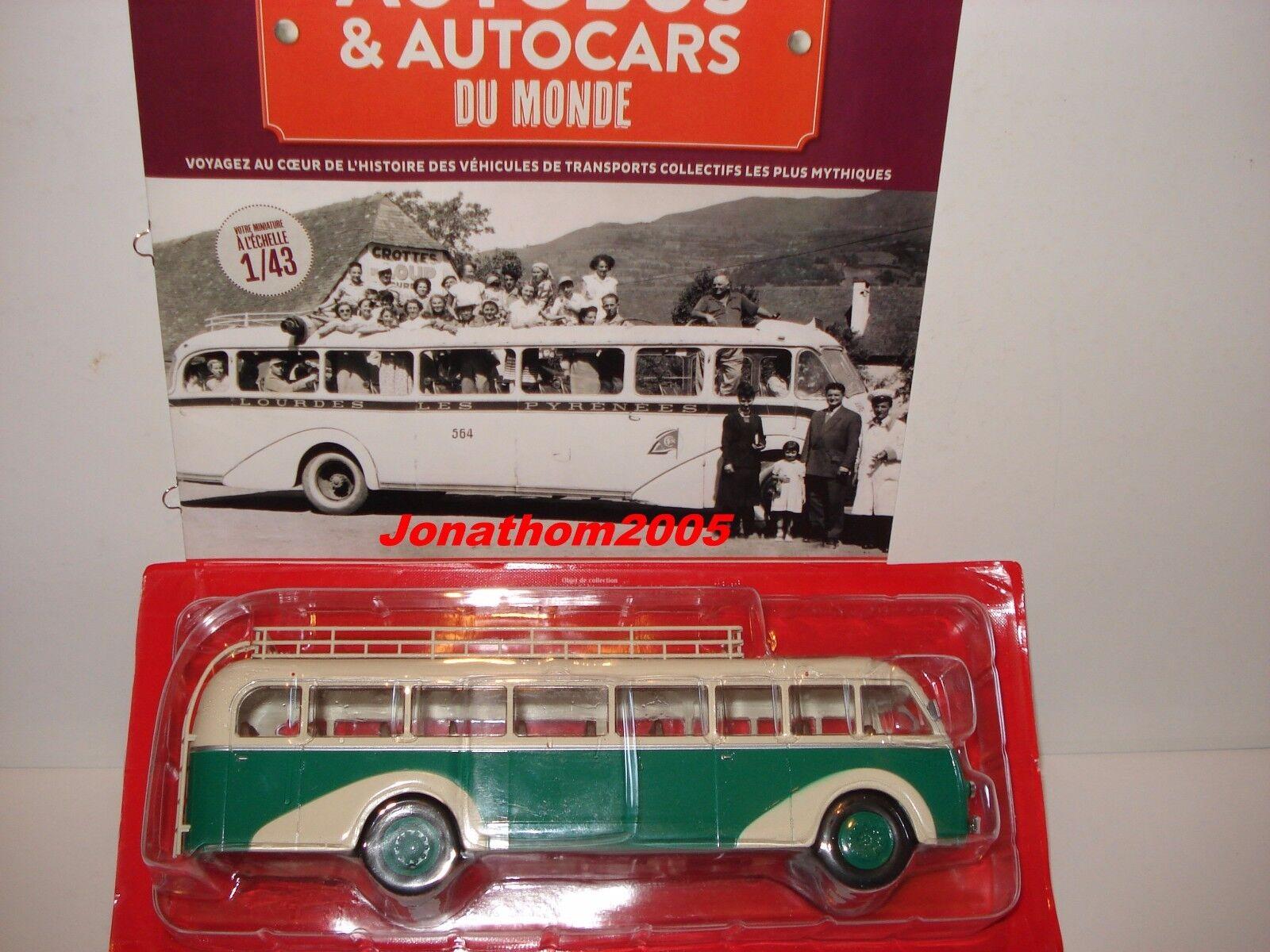 AUTOBUS & AUTOCARS DU MONDE - PANHARD MOVIC MOVIC MOVIC IE 24 FRANCE 1948 au 1 43° cf3461