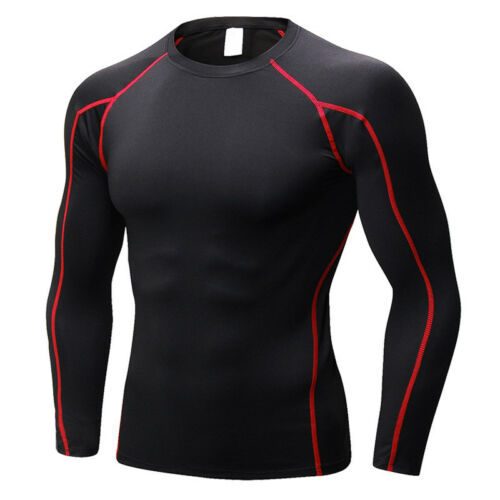 Mens Boys Thermal Compression Armour Base Layer Top Under Sports Shirt Skins