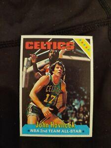 1975 Topps John Havlicek All Star basketball card Boston Celtics #80 EX+