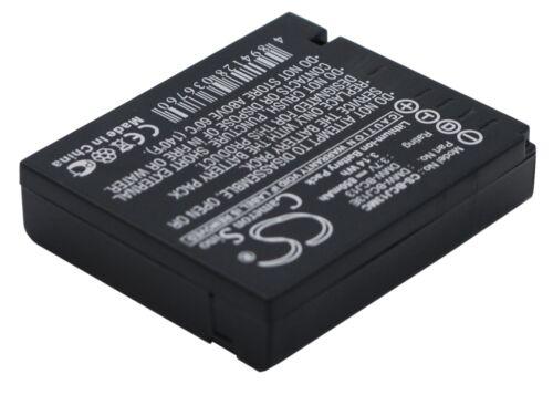 Reino Unido Batería Para Panasonic Lumix Dmc-lx5k Dmw-bcj13 Dmw-bcj13e 3.7 v Rohs