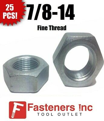 Square Nuts Hot Dipped Galvanized Grade 2-5//16-18 UNC Qty-100