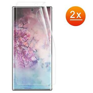 2x-Panzer-Folie-Samsung-Galaxy-Note-10-Plus-Display-Schutz-Folie-Glas-Full-TPU