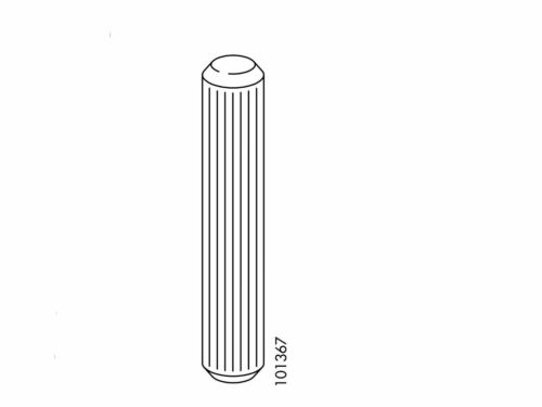 PART # 101367 6x Ikea Wood Dowels 12mm x 60mm for Malm bed frame