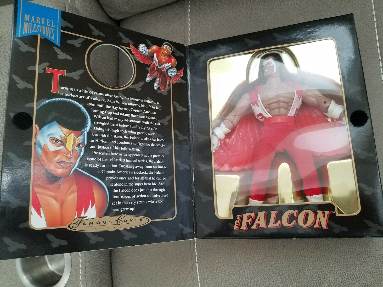 FALCON  Action Figure 1992 Toy Biz (new in box) box) box) Original Famous Covers Series   1fa13a