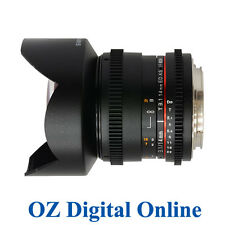 New  Samyang 14mm T3.1 ED AS IF UMC VDSLR for Nikon 1 Yr Au Wty