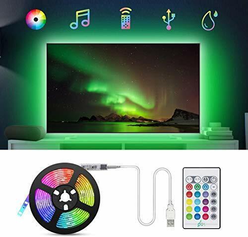 tasmor USB DEL Bandes Lumières avec 16 couleurs et 4 2 M USB TV rétroéclairage par DEL