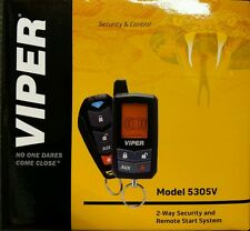 Viper 5305V 4-Button 2-Way Security / Remote Start / Keyless Entry / SmartStart