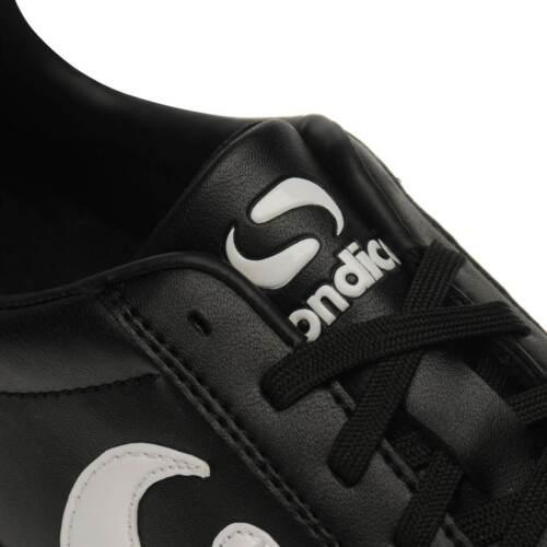 Sondico Enfants Strike Fg Junior Chaussures De Football Ferme Sol Lacets Rivets