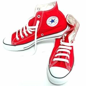 76d1656c2e59 Converse Chuck Taylor Hi Tops Red All Sizes Youth Boys Or Girls Kids ...