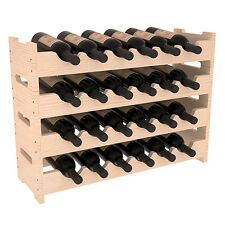 Gracie Oaks Cavour Recycled Pine Stacking 6 Bottle Wall Mounted Wine Rack For Sale Online Ebay