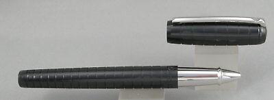 Dupont Line D Ceramium A.C.T Grey Palladium Ballpoint Pen NEW D-415694 S.T