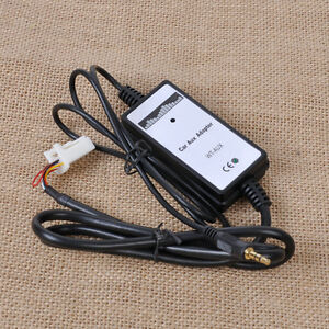 Car-Music-CD-Interface-Adapter-Audio-3-2mm-AUX-Input-for-Toyota-Camry-Corolla