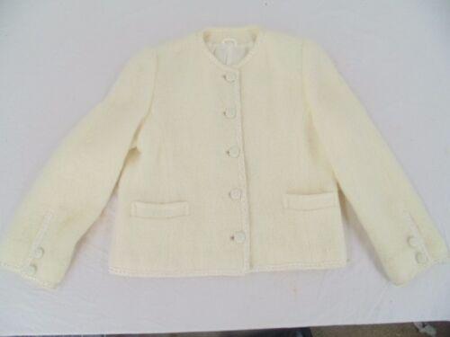 Ireland Sweater Elfenben Mohair Coat Aran Med In irske Kvinder Uld Håndvævede Made qgRFanwfP