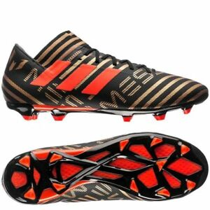 644cef967f34 adidas Nemeziz Messi 17.3 FG 2017 Soccer Shoes Cleats Black   Gold ...