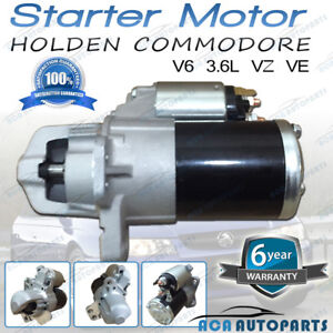 Starter-Motor-to-Fit-Holden-Commodore-VZ-amp-VE-3-6L-Petrol-V6-LY7-2004-to-2013